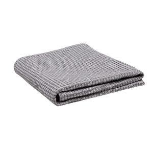 Handduk Tova Eco grå/vit