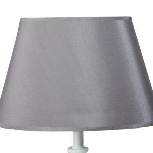 Lampskärm silk/oval 21x33x21cm mörkgrå