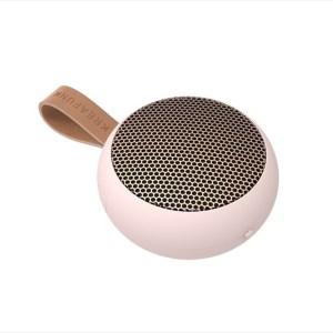 aGO, dusty pink w. rose gold grill, Mini Bluetooth-högtalare