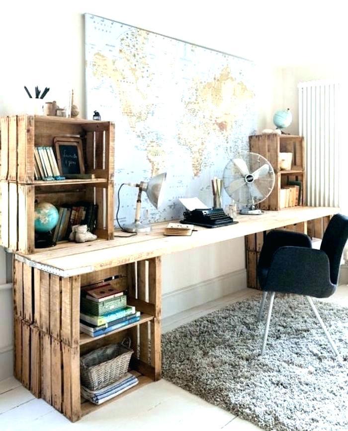 plan de travail bureau bois massif
