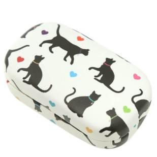 katte linseetui til barn, linseetui for barn og voksne, kreative linseetui, fargerrike linseetui, lillebrille, ta vare på brillene dine