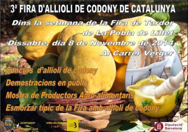 20141108_3aFiraDAllioli de Codony de Catalunya