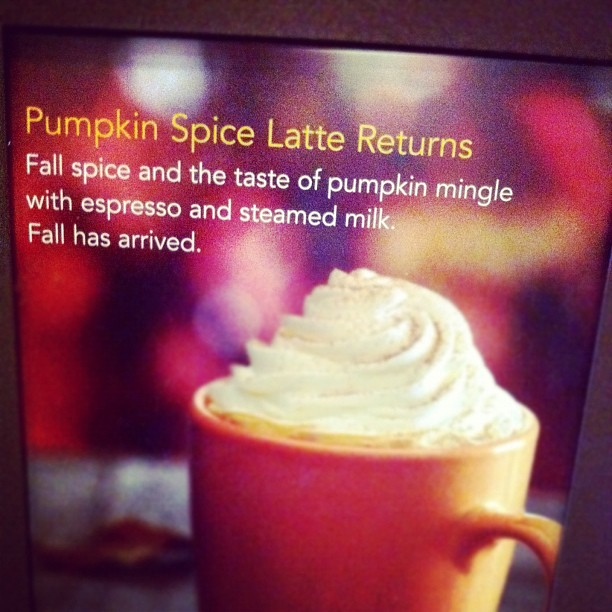 Pumpkin Spice Lattes – Hold the Pumpkin