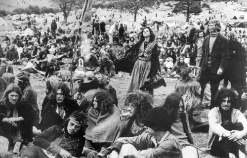 Glastonbury Festical - UK -1970