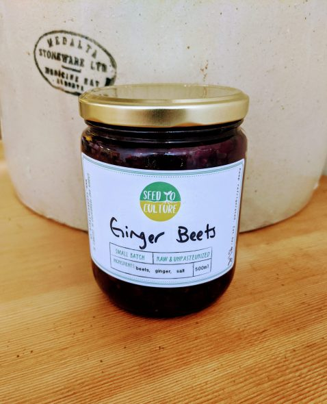 Ginger Beets by Seed to Culture