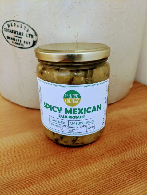 Spicy Mexican Sauerkraut