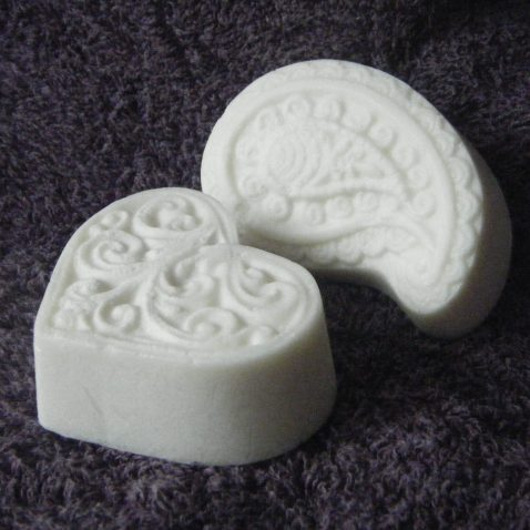 13th Fairy Soapcraft Innocent Allure hearts and paisleys