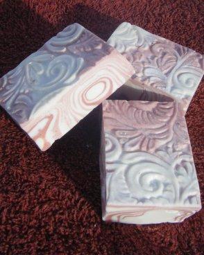Pink Candy Stripes Bar Soap