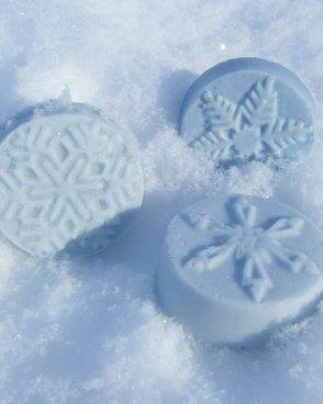 Peppermint Snowflake Guest Soap