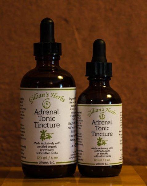 Gillians Herbs Adrenal Tonic Tincture