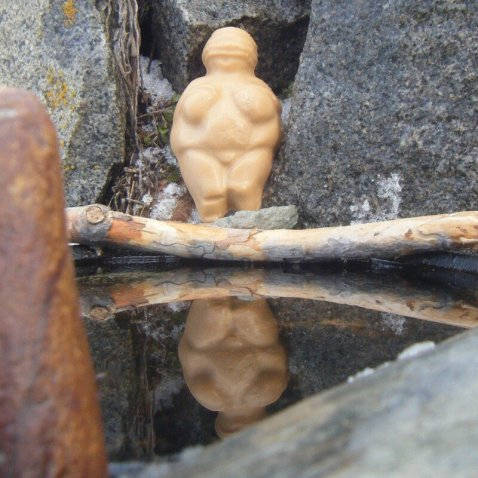 13th Fairy Woman of Willendorf bar soap