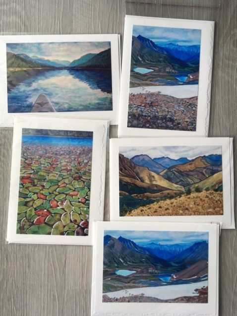 Christina Timms Fine Art pack of 5 cards