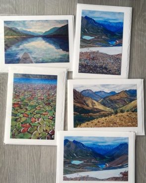 5-Pack of Art Cards