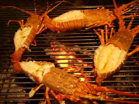 BBQ lobster Kamala Beach