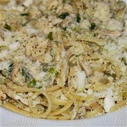 Pasta – Chicken And Onions Over Linguini