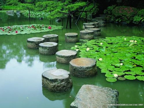 Stone Path, Kyoto, Japan