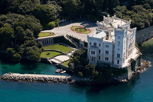 Lakeside Castle, Trieste, Italy