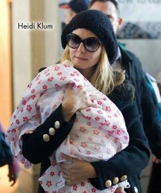 Aden and Anais - Heidi Klum