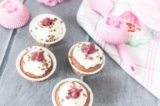 Schwarzwälderkirsch-Cupcakes
