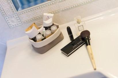 Badezimmer mit Versacefliesen