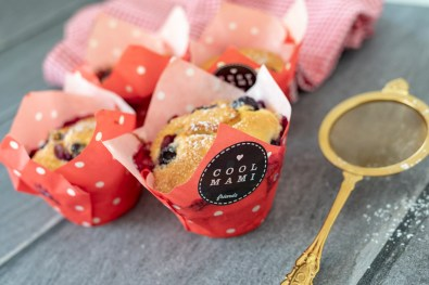 Zitronen-Blaubeer-Muffins