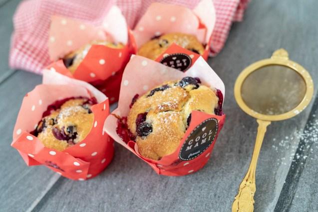 Zitronen-Heidelbeer-Muffins