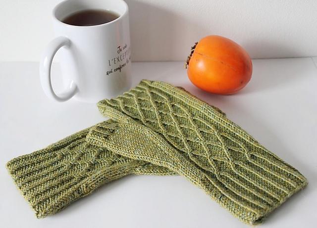 Modele de tricot de mitaines