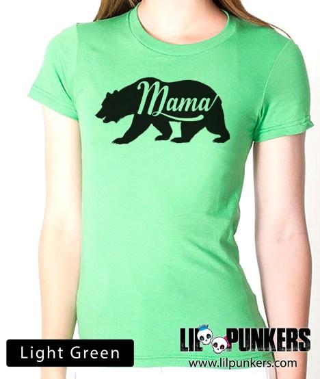 mama-bear-light-green-shirt
