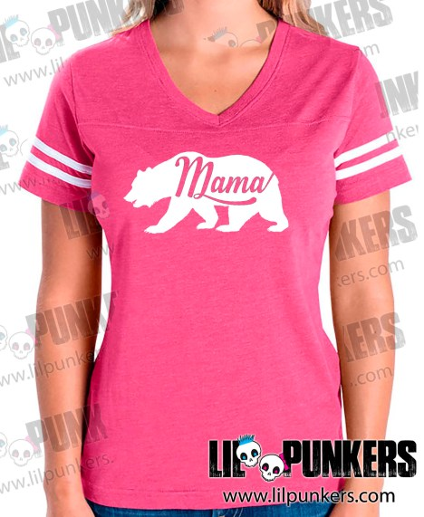 mama-bear-pink-girls-football-shirt