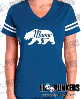 mama-bear-royal-blue-girls-football-shirt