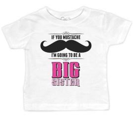 mustache-big-sister-White-Baby