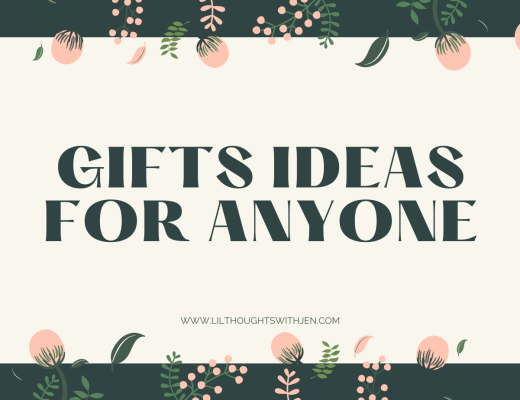 GIFT IDEAS FOR ANYONE