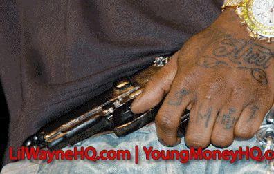 Lil Wayne Trina Tattoo