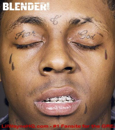 Lil Wayne Face Tattoos