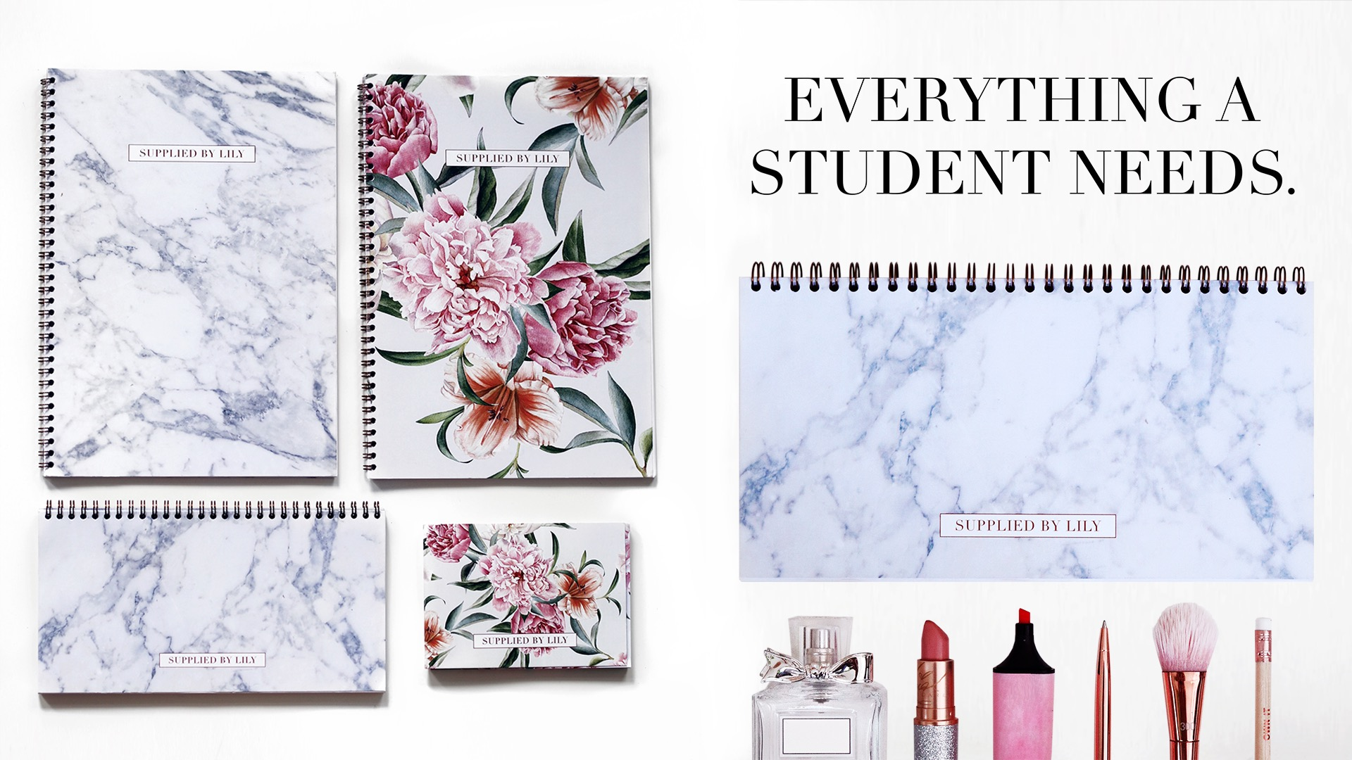 Supplied by Lily Luxury Student Stationery