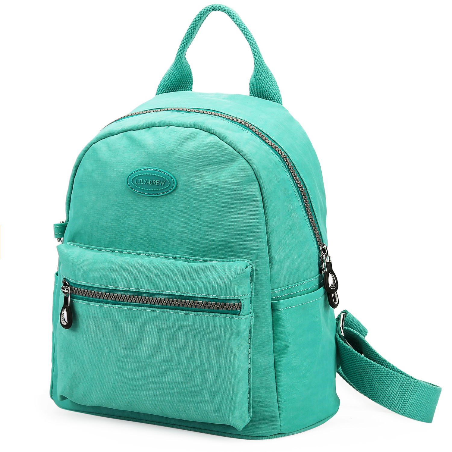 most popular cheapest sale exceptional range of styles and colors Lily & Drew Nylon Mini Casual Travel Daypack Backpack Purse (Mint Green) -  Lily and Drew