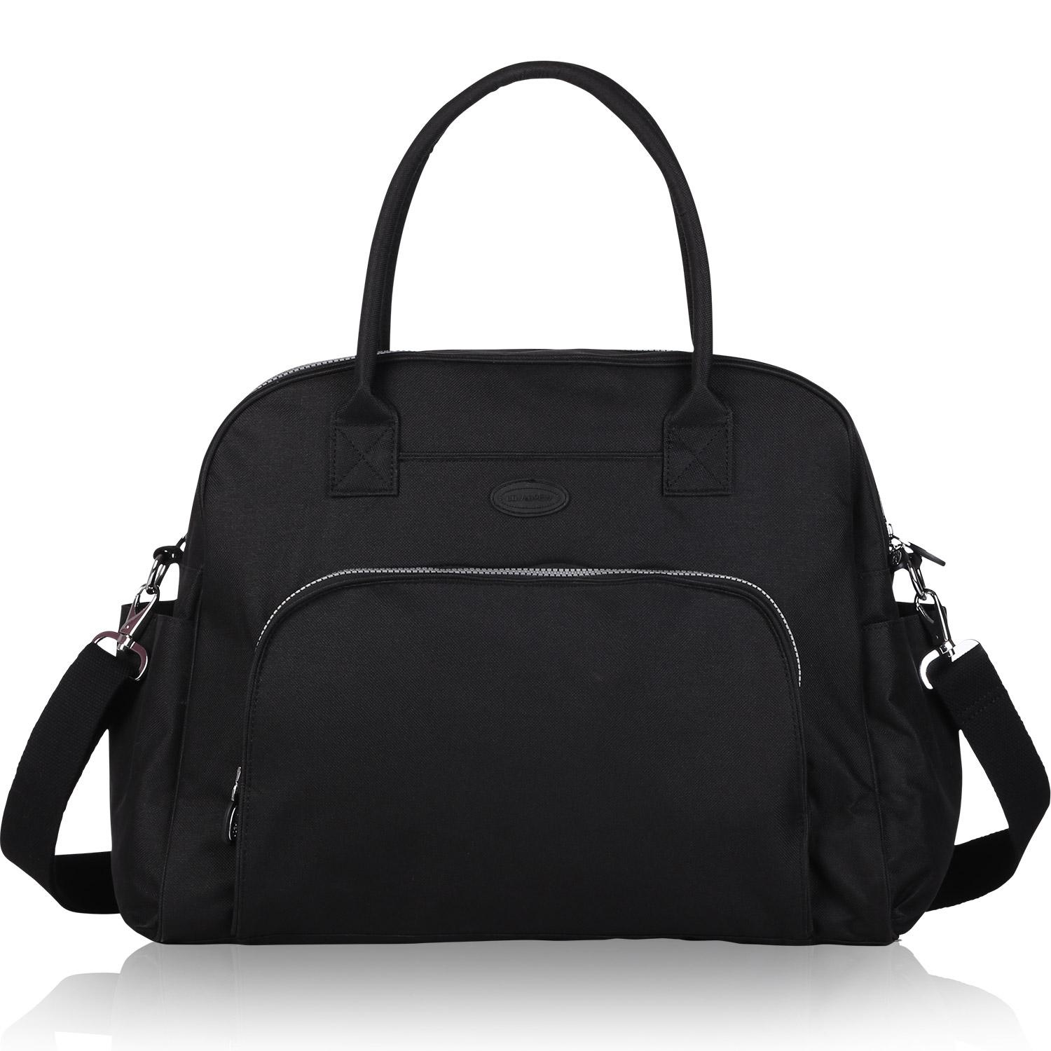 30cb9175d8ccdc Lily & Drew Carry On Weekender Travel Bag for 15.6 Inch Laptop Computers