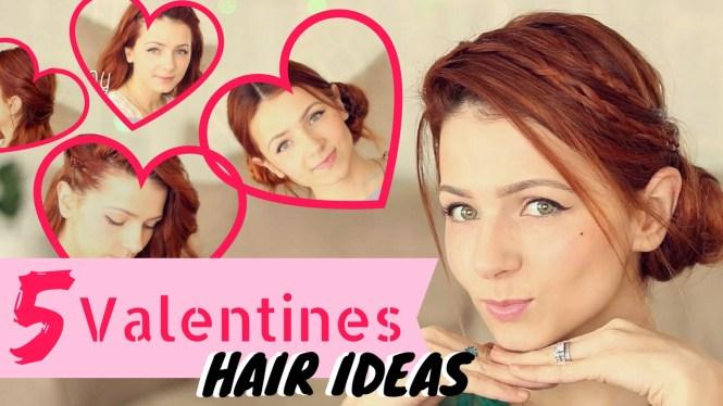Valentines hair