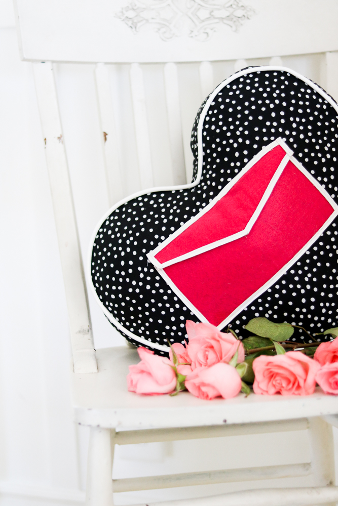 heart pillow diy