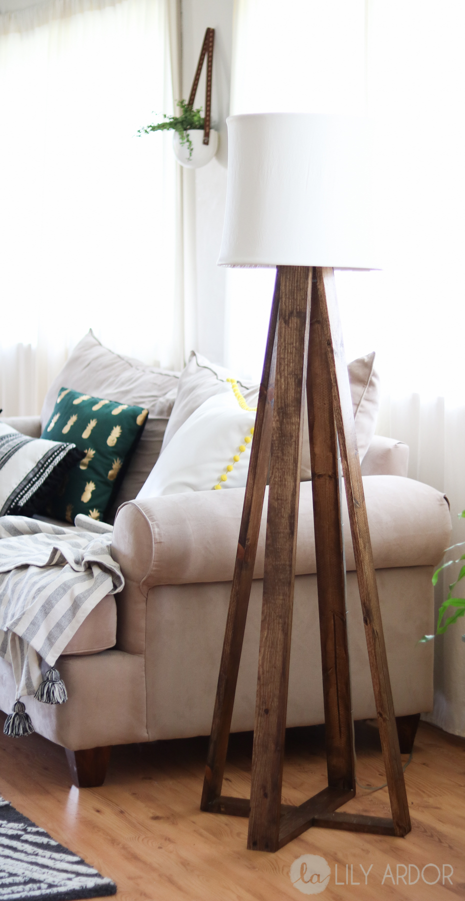diy floorlamp