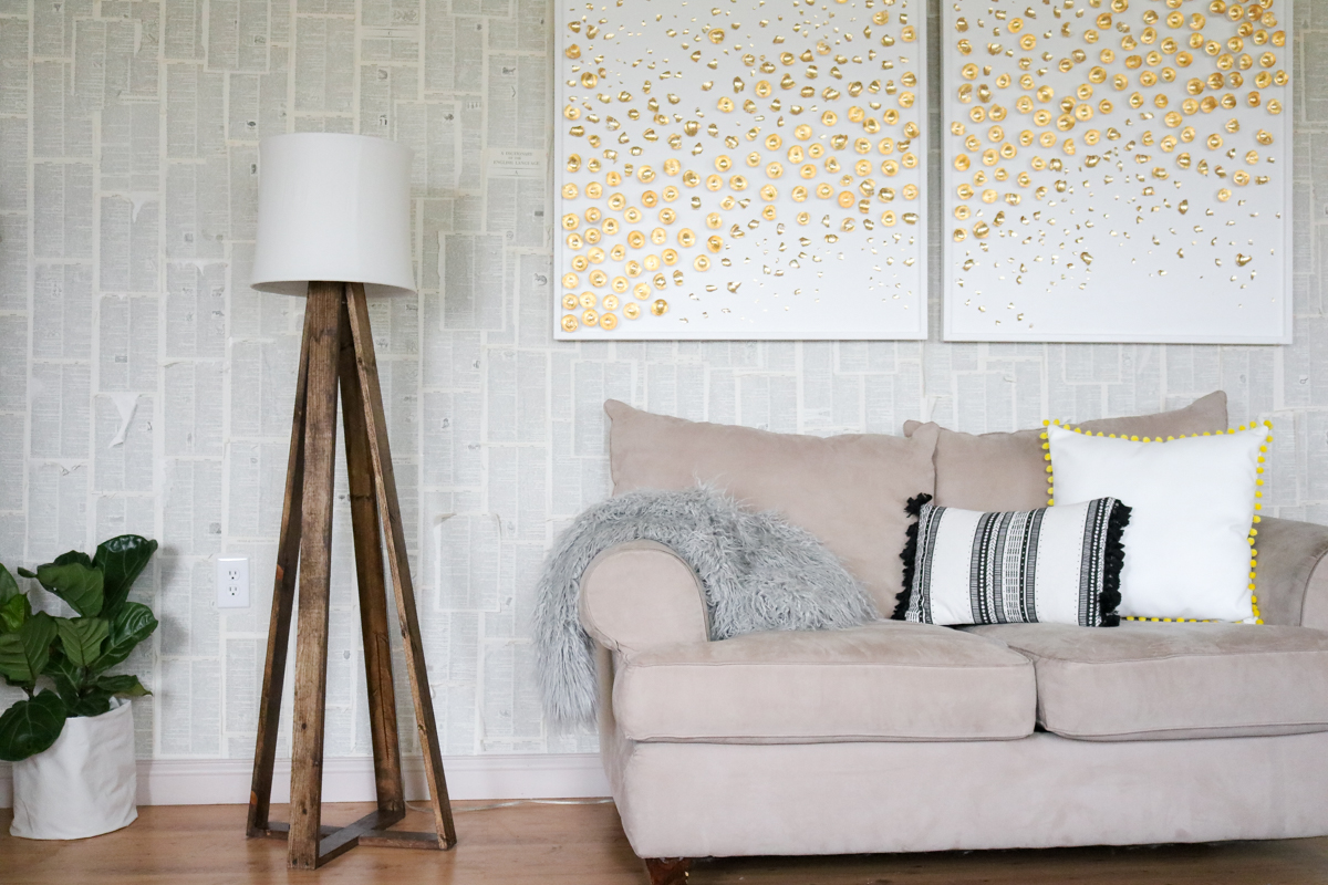 DIY Floor Lamp (WITH VIDEO)