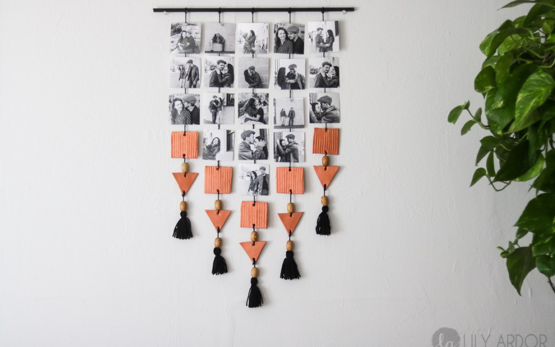 DIY Hanging Picture Display (WITH VIDEO)
