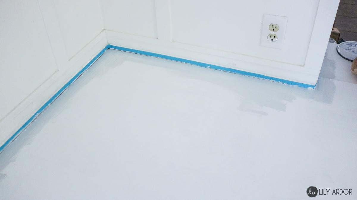 Painted floor idea