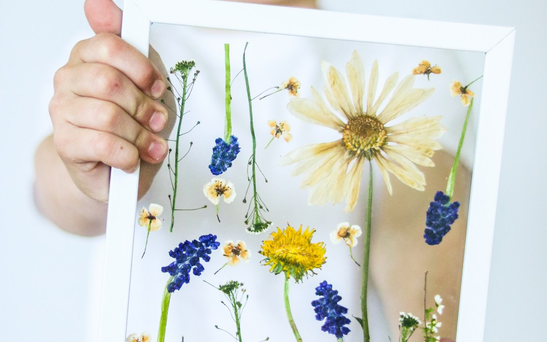 Mothers day craft ideas press flowers in 3 minutes pressed flowers mothers day craft idea mightylinksfo