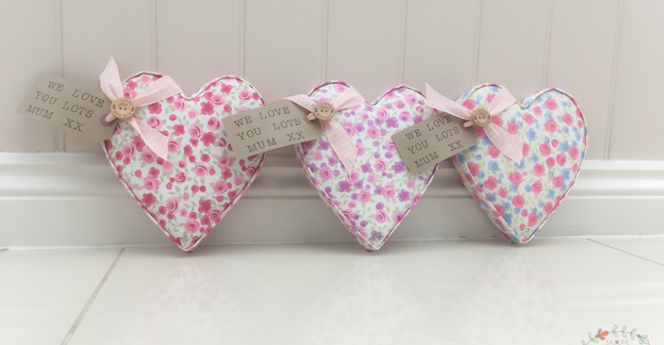 Selection of hearts ★ Lilymae Designs ★ We offer many items including Fabric Letters, Extra Large Fabric Letters in sizes 22cm tall, 25cm tall, 30cm tall, 40cm tall, 50cm tall and 60cm tall., Fabric Hearts, Butterflies, Stars, Birds, Bunting, Memo Boards, Extra Large Memo Boards, Cushions, Lampshades, Curtains and Roman Blinds Available in any of our Clarke and Clarke and Prestigious Textiles fabrics. Custom fabric letter sizes available on request. Our Extra large fabric letters make great nursery decor, wall decor and home decor in any room. Also great gifts, new baby gift, new baby present baby shower gift baby shower present christening gift christening present little brother little sister niece nephew grandson godson granddaughter goddaughter first birthday gift first birthday present childrens birthday present childrens birthday gift new home gift new home present teacher gift teacher present dinner party gift dinner party present mum present mum gift sister gift sister present first home gift first home present wedding gift wedding present personalised gift personalised present best friends present best friend gift baby boy gift baby girl gift baby boy present baby girl present wedding gift wedding present flowergirl gift flowergirl present page boy gift page boy present bridesmaid present bridesmaid gift rainbow baby gift baby after loss gift tommys charity stillbirth awareness mothers day gift mothers day present mum gift mum present Personalised, handmade and made to order here within the UK Extra Large Fabric Letter Name Sets
