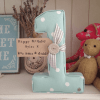 Customer Reviews of Lilymae Designs fabric letter 1 for first birthday gift present. Happy 1st birthday Myles love Mum & Dad First Birthday