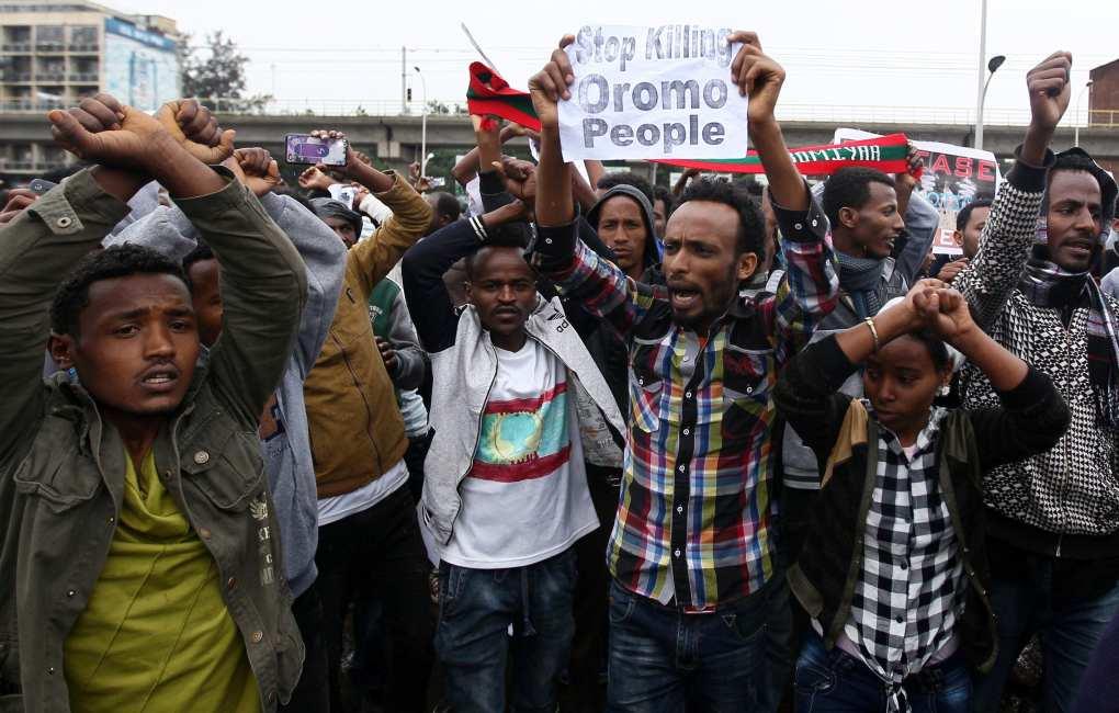 Image Ethiopia protest