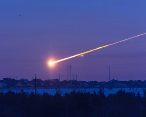Image Russia meteor