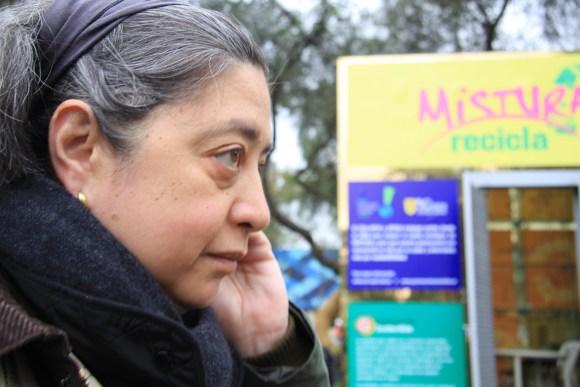 Patricia Majluf en el festival gastronomico Mistura, donde ha promovido el uso de anchovetas como práctica sostenible.