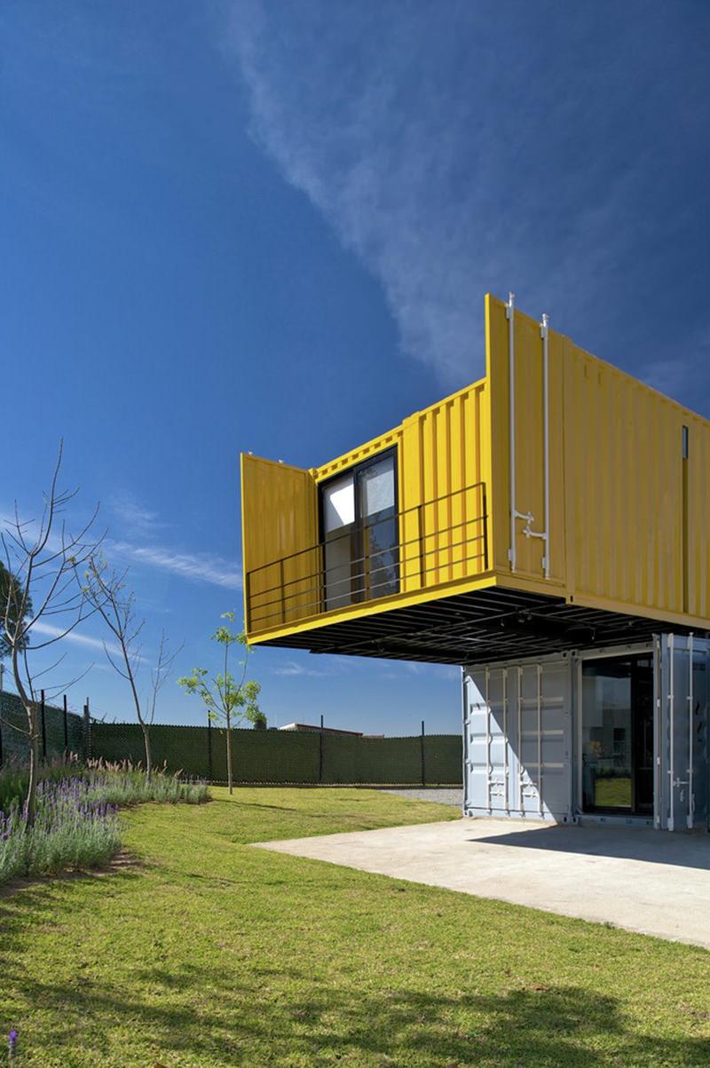 Uma Bela Casa Container Para Voc Se Inspirar Limaonagua